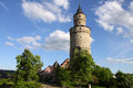 Castle tower in Idstein Royalty Free Stock Photo