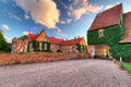 Castle Trolle-Ljungby in Sweden Royalty Free Stock Photography
