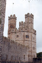 Castle turret. Royalty Free Stock Photo