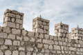 Castle Turrets Royalty Free Stock Photo