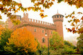Castle of Valentino Royalty Free Stock Photography