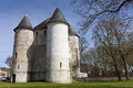 Castle of vernon haute normandie france Royalty Free Stock Photos