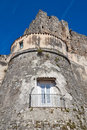 Castle of Vico del Gargano. Puglia. Italy. Royalty Free Stock Images