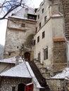 Castle of Vlad Tepes Dracula. Royalty Free Stock Photo