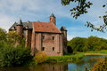 Castle waardenburg Stock Images
