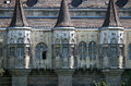 Castle wall detail Budapest Hungary Royalty Free Stock Photo