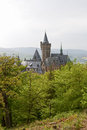 The castle at wernigerode in harz germany Royalty Free Stock Photos