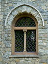 Castle window Royalty Free Stock Image