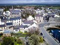 Castletown from the castle Royalty Free Stock Photo