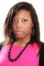 Casual Black Woman Royalty Free Stock Photo