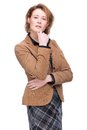 Casual Business Woman Royalty Free Stock Photo
