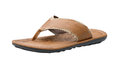 Casual leather sandal for men Stock Photo