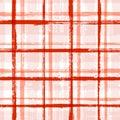 Casual stripes interior wallpaper seamless pattern.