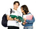 Casual students Stock Images