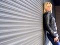 Casual urban woman