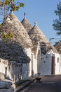 A cat in alberobello ancient residential structures known as trulli found the south of italy Stock Photos