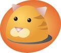 Cat cartoon Royalty Free Stock Images