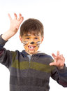 Cat child 2 Royalty Free Stock Photo