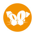 Cat comic character icon