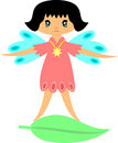 Cat Fairy Vector Royalty Free Stock Images