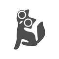 Cat , logo graphic design
