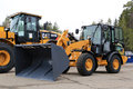 Cat 906M Compact Wheel Loader Royalty Free Stock Photo