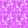 Cat Pattern Pink Stock Images