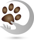 Cat Paw and Hand, Cat Logo