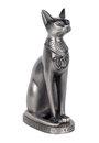 Cat souvenir egyptian statue of the symbol of fertility Stock Photography