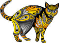 Cat.stylized animal. pattern Stock Photo