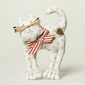 Cat toy and textile and accessory sewing Royalty Free Stock Images