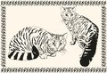 Cat vector sketch set of Royalty Free Stock Image