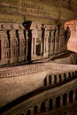 Catacombs paris Royaltyfri Fotografi