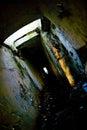 Catacombs strani e lugubri Fotografia Stock