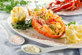 Catalan lobster Stock Images