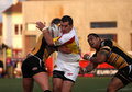Catalans Dragons vs Castleford Tigers Stock Images
