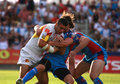 Catalans Dragons vs Wakefield Wildcats Royalty Free Stock Images
