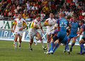Catalans Dragons vs Wakefield Wildcats Stock Images