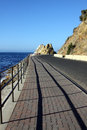 Catalina Island Coast Road Royalty Free Stock Photo