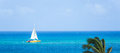 Catamaran at the beach Royalty Free Stock Photo