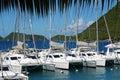 Catamarans Royalty Free Stock Photos