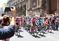 Giro d`Italia 2018. 4th stage in Catania, Sicily Royalty Free Stock Photo
