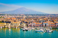 Catania Sicily, Italy Royalty Free Stock Photo
