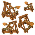Catapult (Medieval) Royalty Free Stock Photo