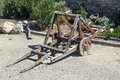 Catapult in the medieval Royalty Free Stock Photo
