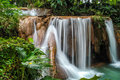 The cataratas de agua azul waterfalls in aqua chiapas Royalty Free Stock Image