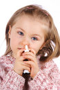 Catarrh Royalty Free Stock Photography