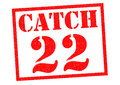 CATCH 22 Royalty Free Stock Photo