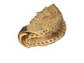 Catchers mitt vintage on white background Royalty Free Stock Photography