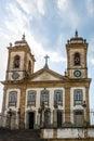 Catedral Basilica Nossa Senhora do Pilar Cathedral Basilica of Our Lady of the Pillar - Sao Joao Del Rei, Minas Gerais, Brazil Royalty Free Stock Photo